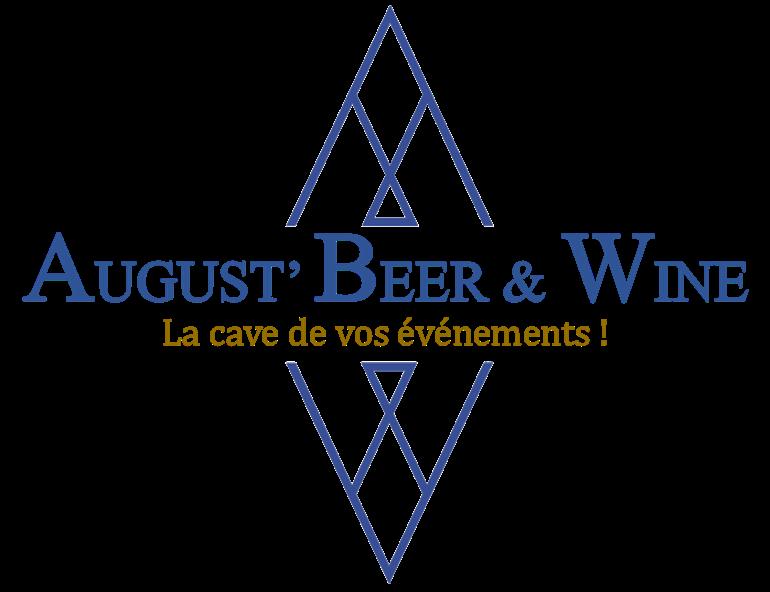 logo august' beer & wine la cave de vos événements