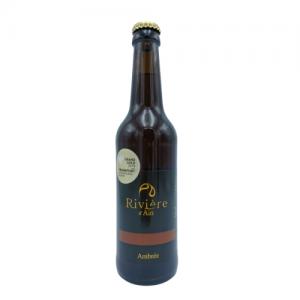 Bière Ambrée 33 cl – Brasserie Rivière d'Ain