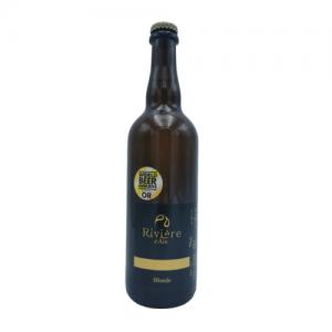 Bière Blonde 75 cl – Brasserie Rivière d'Ain
