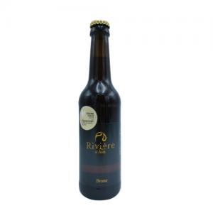 Bière Brune 33 cl – Brasserie Rivière d'Ain