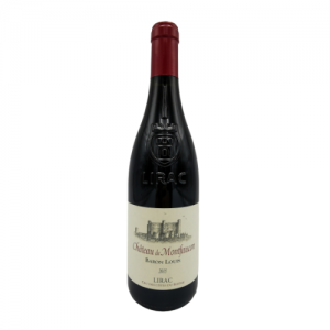 """Lirac rouge """"Baron Louis"""" 75 cl – Château de Montfaucon"""