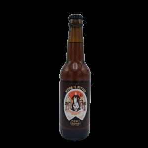 """Bière Ambrée """"More is Bitter"""" 33 cl – Bières Georges"""