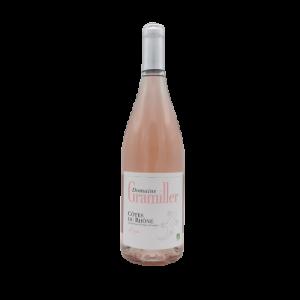 Côtes du Rhône rosé Bio 75 cl – Domaine Gramiller