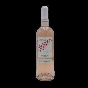 """Rosé de Loire """"L'Envol"""" 75 cl – Domaine Jean-Paul David"""