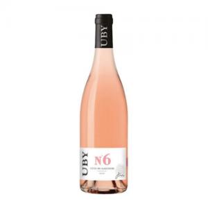 """Côtes de Gascogne rosé """"UBY n°6"""" Domaine UBY – 75 cl"""