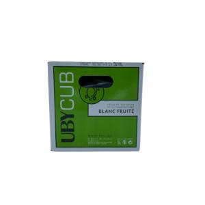 """BIB UBY """"Blanc Fruité"""" – Côtes de Gascogne – 5L"""
